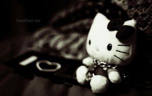 I Heart U, Hello Kitty. by TwistedHearts
