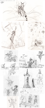 Old Tuera sketches by Sheason