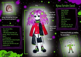PA: Nyree Ref. Sheet by tcgMinuet