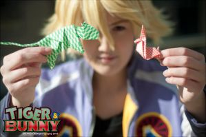 T+B: Origami's Tiger and Bunny by firewolf826
