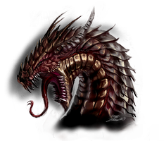Mudge Dragon by LordHannu