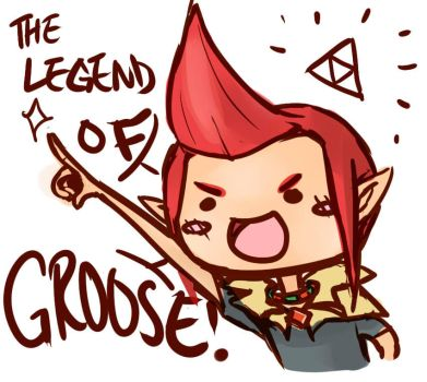 The Legend of Groose by SailorSquall