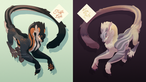 Truffle and Tea Alpine Lyr Auction [CLOSED] by zooque