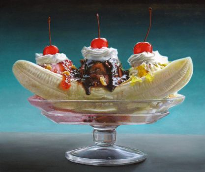 Big Banana Split by elliez1