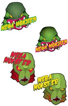Mega Monster #1 and #2 by filly4585