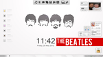 The Beatles Minimalistic Desktop by bellacydonia