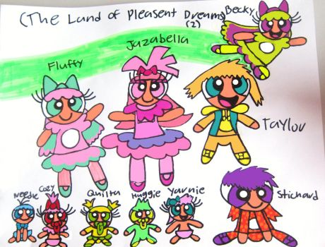 The Land of Pleasant Dreams 2 in Powerpuff version by BITBBH-Lover98