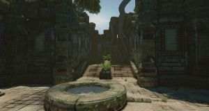 Temple Well by CipherWolf