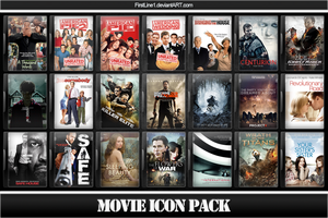 Movie Icon Pack 51 by FirstLine1