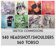 TFcon Charlotte Commission Preorders by dcjosh