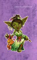 Disney meets Warcraft - Tiana by LiberLibelula