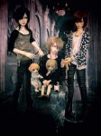 My Doll Family by Yumek0