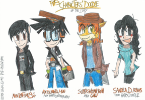 Characters' Doodle of The Day - 09/26/2014 by FelixToonimeFanX360