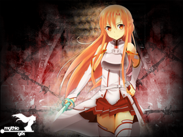 Asuna Wallpaper for Rayodin by MythicxGamer