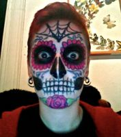 Sugar Skull by punkgrrrl16