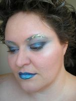 icy makeup by DelectablyDeviant