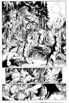 red sonja legends page 07 art jackjadson by jackjadson