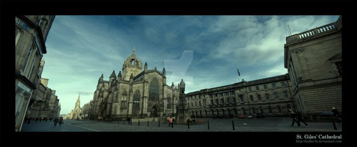 St. Giles Cathedral by KaFKa-FX