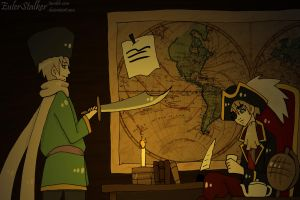 + APH: On The Galleon + by Serket-XXI