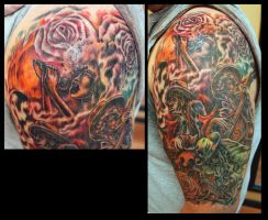 Jazz Sleeve done by Sean Ambrose by seanspoison