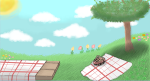 Picnic Background by Moracalle