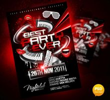 Best Party Ever Flyer Template by Party-Flyer