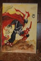 Watercolor - Spawn by marko-kun-astur