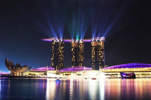 Marina Bay Sands by ravador