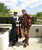 Mr. Uzumaki and Mr. Stark by R-Legend
