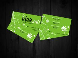 Business Card. Idea-md by Leksy