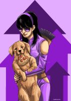 Kate and Lucky by christasyd