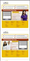 Callbox landing page design by taki3