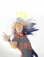 You are not alone by MelamoryBlack