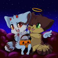be my halloween date by SPACEJEDi