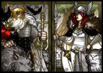 ODIN and FREYJA by Aerion-the-Faithful