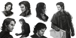 Robin Hood BBC - Guy of Gisborne by maXKennedy