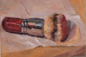 Makeup Brush, a day painting by patispringmeyer