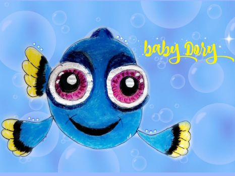 Baby Dory by Gigilovesdrawing