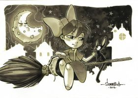 KIKI and her Gatito by Red-J
