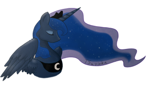 Princess Luna by FreckledBastard