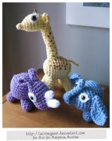 Amigurumi for Adoption by WireMySoul