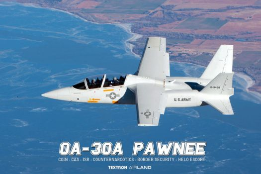 U.S. Army Textron Airland OA-30A Pawnee by db120