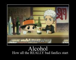 Alcohol in fanfics demote 2-3 by MikiMichelleMAL