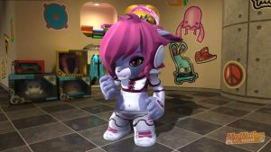 ModNation Racers Astro Kitty remix by Blucaracal