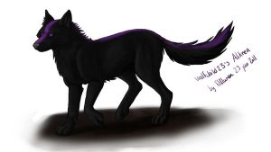 Art trade with wolfchild23 by fiffiluren