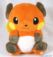 Pokedoll Style Plush- Raichu by TeacupLion