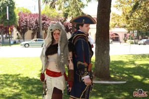 Fanime Haytham and Connor by prettyfloralbonnet
