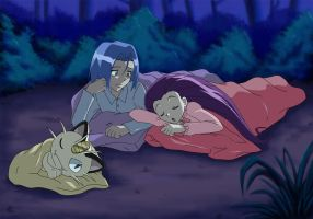 Team Rocket Bedtime by Shaami