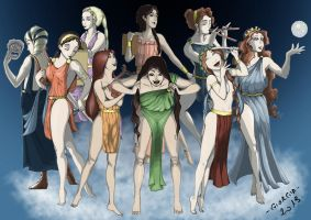 The Muses - Museion by MadFretsy