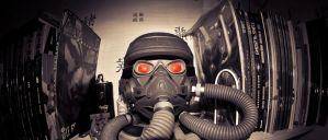 helghast head by easycheuvreuille